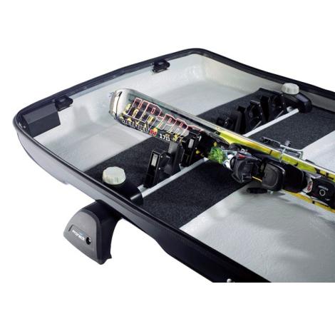 Skidhållare Packline SkiFix för takbox
