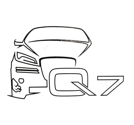 Dekalsats Audi Q7 Edition