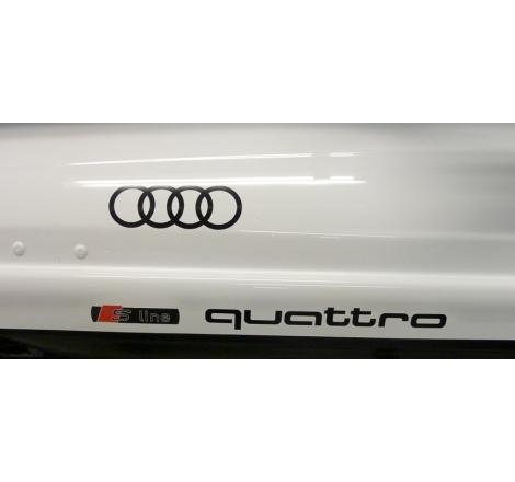 Dekalsats Audi Quattro S-Line Edition