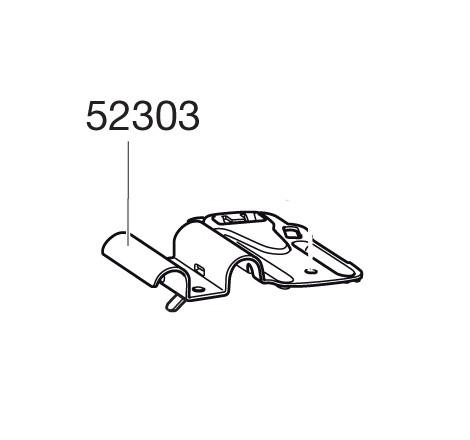Monteringsplåt till Cykelhållare Thule FreeRide 532
