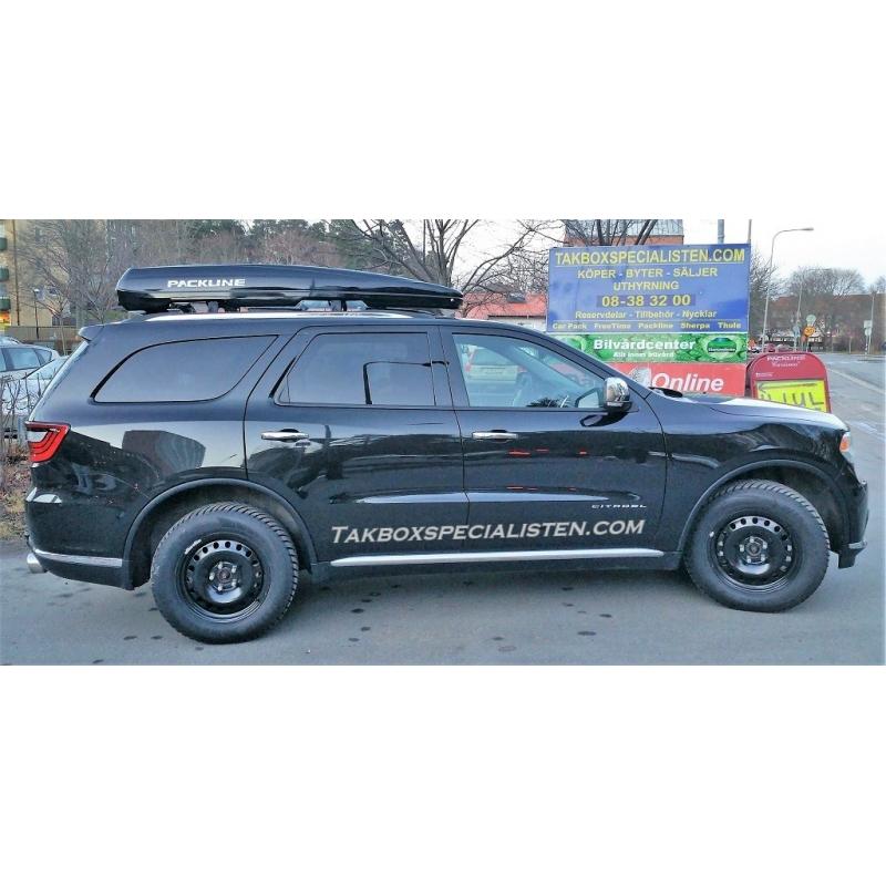 Takbox Packline FX SUV 2.0 Svart högblank på Mini Cooper