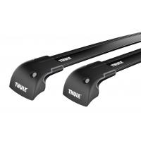 Thule WingBar Edge Black / takräcke Suzuki Swift 3/5-dr Hatchback 2010-2017 Fasta fästpunkter