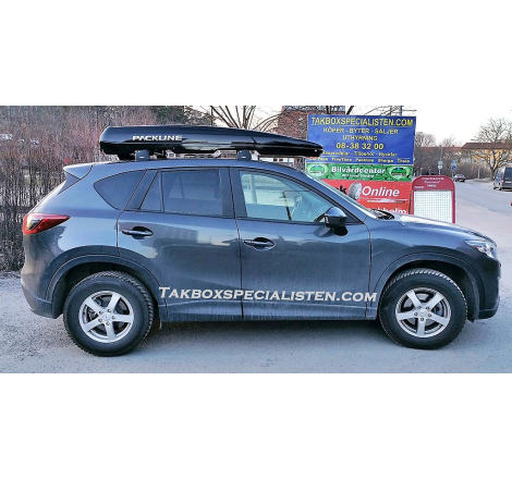 Takbox Packline FX-SUV 2.0 Svart högblank på Mazda CX-5