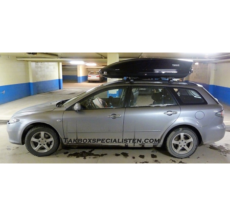 Takbox Thule Motion / Motion XT XL Svart högblank på Mazda 6