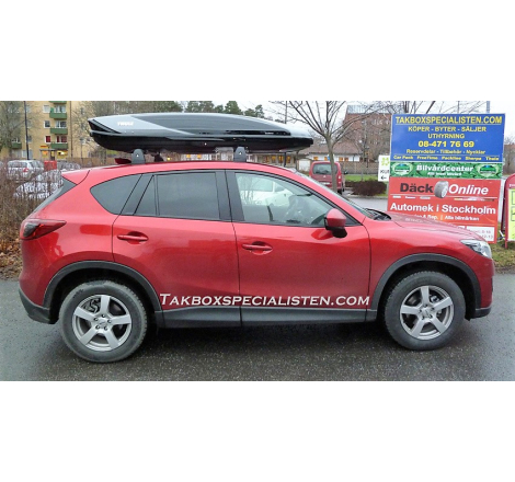 Takbox Thule Excellence XT Svart / Titan på Mazda CX-5