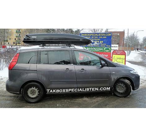 Takbox Thule Touring 700 / Force XT Alpine Svart matt på Mazda 5
