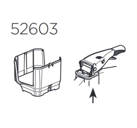 Plastkåpa till Thule VeloSpace 938