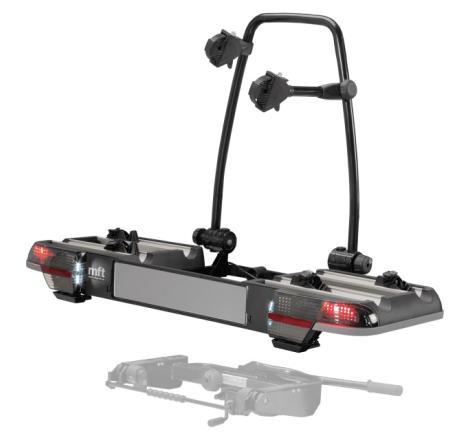 MFT BackPower Cykelhållare 2-4 cyklar + BackCarrier (Lev. tid 5-10 arbetsdagar)