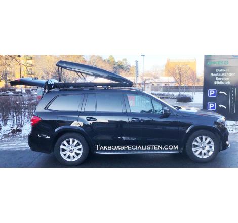 """Takbox Packline FX-SUV 2.0 Svart """"Mercedes Benz AMG"""" Edition - 400 Liter"""
