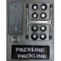 "Takbox Packline FX-SUV 2.0 Vit ""Glow"" Edition - 400 Liter"