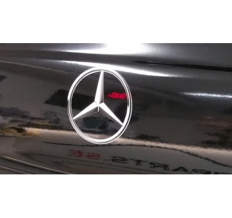 Dekalsats Stjärna Mercedes Benz