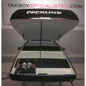 """Takbox Packline FX-SUV 2.0 Svart """"Glow"""" Edition - 400 Liter"""