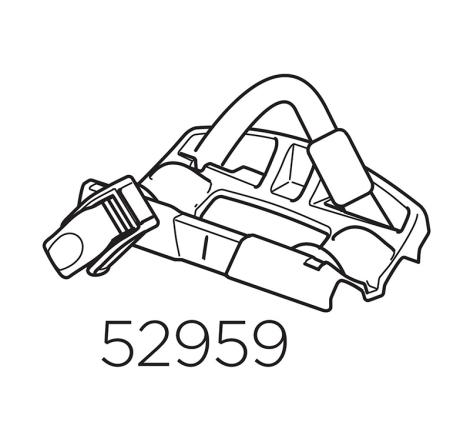 Hjulfäste bak till Cykelhållare Thule ProRide 598, UpRide